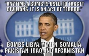 any time a bomb is used it is an act of terror